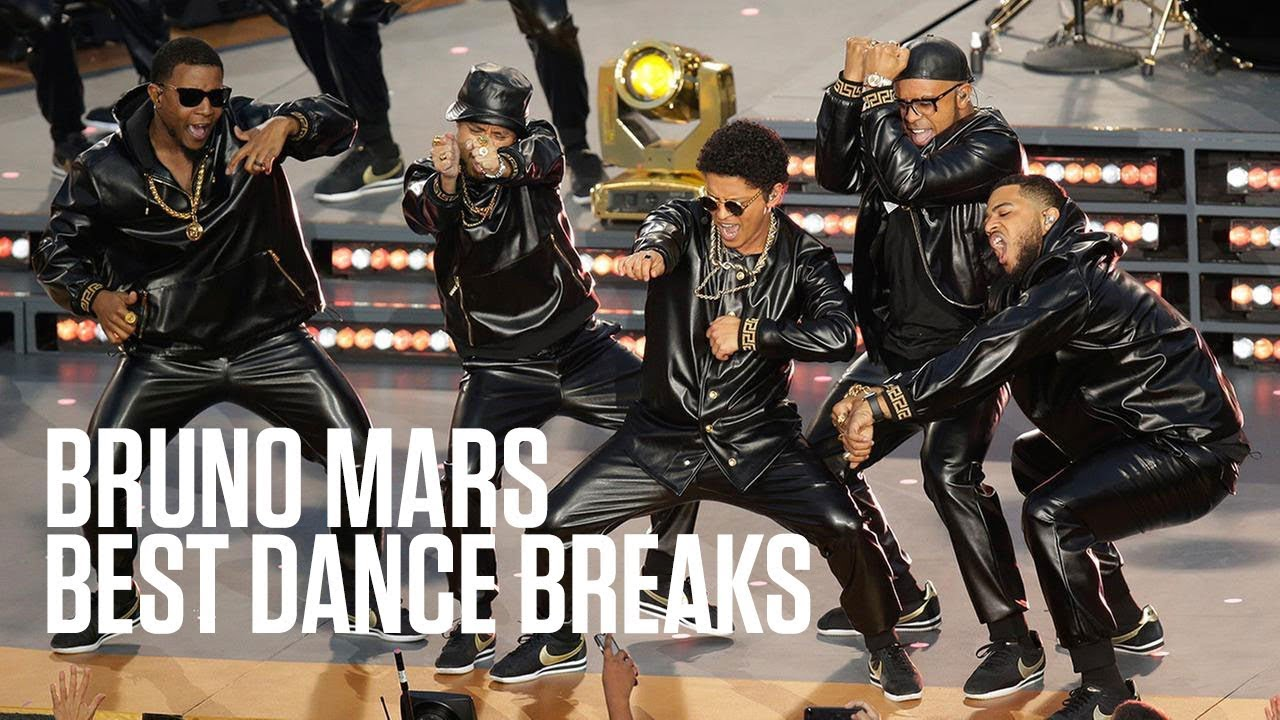 Bruno Mars' Best Dance Breaks