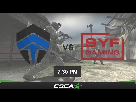 [CSGO VOD] ESEA Premier Season 24 Australia - Chiefs vs SYF Gaming (de_nuke)