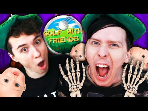 THE SCARIEST SPORT - Dan and Phil play: Golf With Friends #4