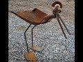 Creative Scrap Metal Art Designs | Repurpose Junk Metal Art Decor Ideas