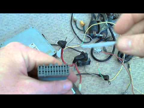 hqdefault how to re pin automotive connector youtube how to take wires out of a wiring harness at n-0.co