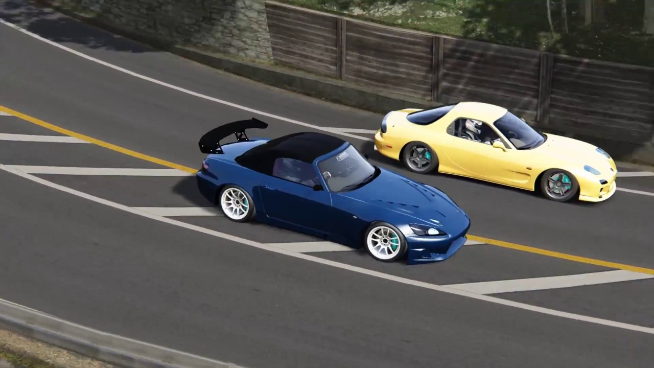 Fight to the Finish! Intense Touge Battle on Usui! - Assetto Corsa by  StreetVersion
