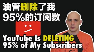 油管移除了我95%的订阅数| YouTube Deleted 95% My Subs thumbnail