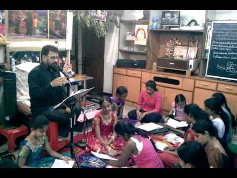 Telugu Lalitha SangeethamCine Sangeetham Classes MLN ACADEMY OF MUSIC & DANCE +91 9949930893