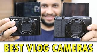 Canon G7X mark II Vs Nikon Coolpix A900 [Best Vlog Camera]