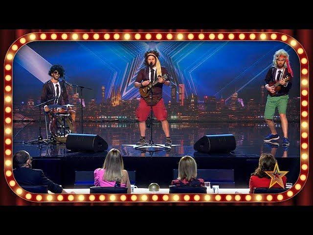 Este grupo demuestra estar CUERDO de ATAR con sus CHISTES VERDES | Inéditos | Got Talent España 2019
