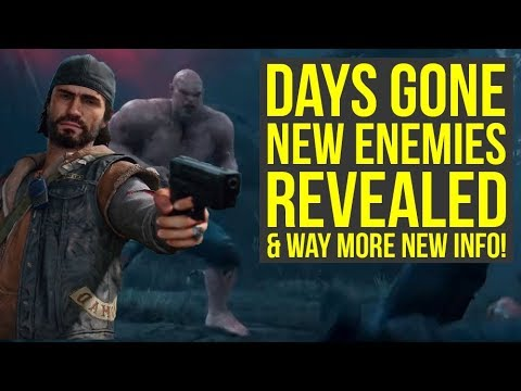 Days Gone Gameplay - New Enemies REVEALED, Trophy List, Story Trailer & More (Days Gone PS4) thumbnail
