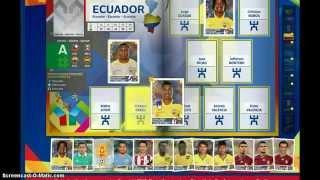 Copa America 2015 Virtual -Abriendo sobres