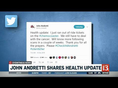 John Andretti health update