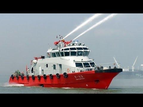 Мегамашины - Пожарный катер LAFD FIREBOAT 2