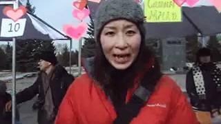 Жапон кыз кыргыз тилин 3 айда үйрөндү