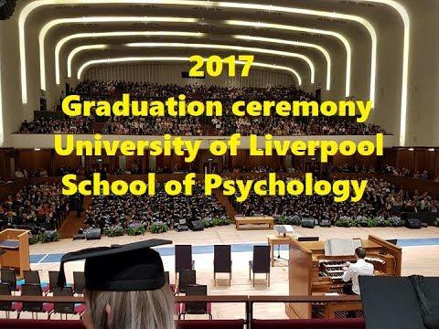 2017 University of Liverpool Psychology Graduation