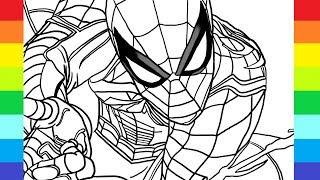 spiderman marvel easy draw drawing