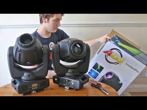 Vlog | ADJ Wifly NE1, Inno Spot Pro and MyDMX 2.0!
