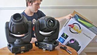 Vlog   ADJ Wifly NE1, Inno Spot Pro And MyDMX 2.0!