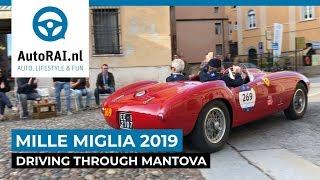 Mille Miglia 2019, driving through Mantova - AutoRAI TV