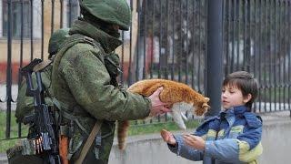 Вежливые люди вернули Крым домой! / Go home!