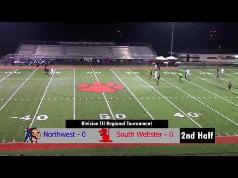 2017 Regional Soccer Tournament: South Webster vs Northwest 2nd Half
