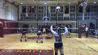 Video Natalie Gravelle Volleyball #17 Highlights Portsmouth HS vs STA 10/18/17 download MP3, 3GP, MP4, WEBM, AVI, FLV November 2017