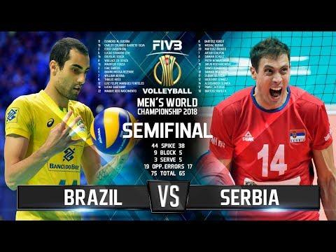 Brazil vs. Serbia | SEMIFINAL |  World Championship 2018