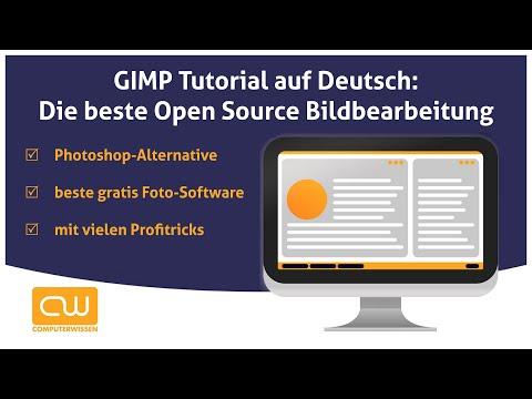 GIMP Tutorial auf Deutsch: Die beste Open Source Bildbearbeitung thumbnail