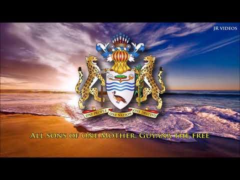 National Anthem of Guyana (EN lyrics)
