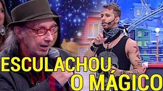 JURADO DETONA MÁGICO AO VIVO EM PROGRAMA DE TV