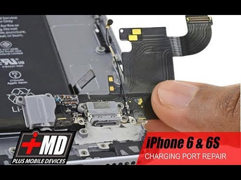 iPhone 6 & 6s charging port replacement