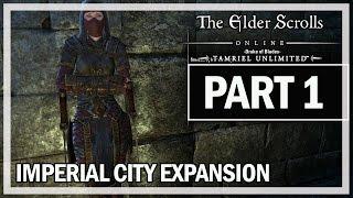 The Elder Scrolls Online Imperial City Walkthrough Part 1 - Let