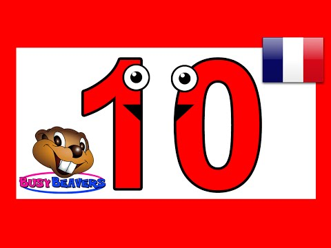 Lets Count to 10 French  Français Learn Counting Numbers, Ba Toddler Nursery Rhymes