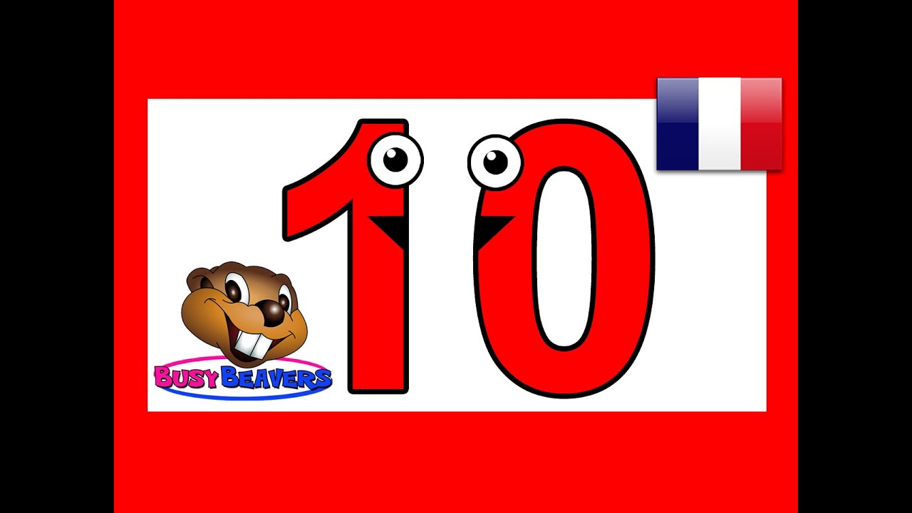 Quot Let S Count To 10 Quot French Fran 231 Ais Learn Counting