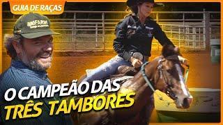 TRÊS TAMBORES, A PROVA DE OURO DO QUARTO DE MILHA! | RICHARD RASMUSSEN