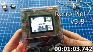 gameboypi v2 raspberry pi zero in gameboy dmg 01 quick demo