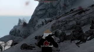 Skyrim naruto mods, gameplay as itachi.