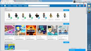 How to TE robux for free at ROBLOX 2017