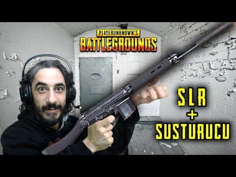 SLR + SUSTURUCU İLE HARİKA BİR MAÇ - PUBG