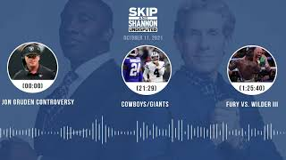 Jon Gruden controversy, Cowboys/Giants, Tyson vs. Fury III | UNDISPUTED audio podcast (10.11.21)