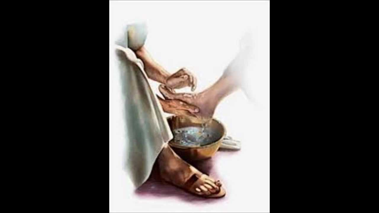 washing the disciples feet youtube