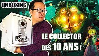 Notre UNBOXING du Collector à 200 EUROS !! BIOSHOCK 10 ans Collector