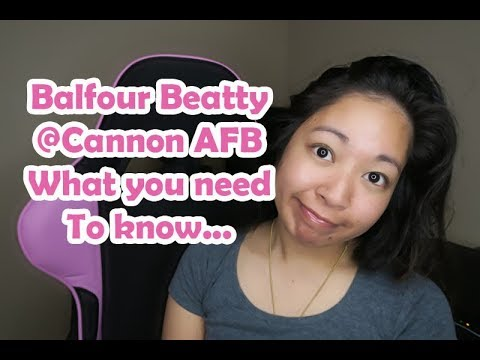 Balfour Beatty at Cannon AFB - What you need to know