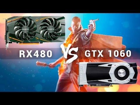 Большое сравнение RX 480 vs GTX 1060 в Battlefield 1. DX11, DX12, 4K