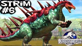 Стрим #6 Jurassic World Динозавры прохождение .Игры Динозавры Юрский Мир.Dinosaurs walkthrough game
