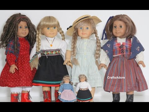 Opening Kirsten Outfits Haul 2015 For Our Kirsten Larson American Girl Dolls ~HD~
