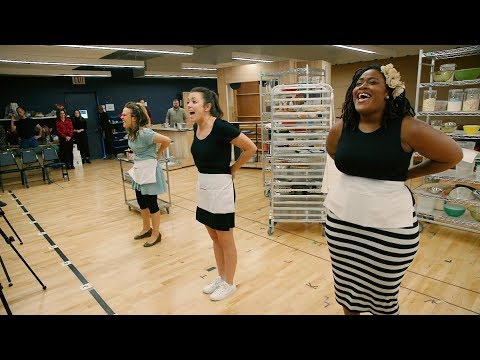 Opening Up: Inside the Waitress Tour Rehearsal Room