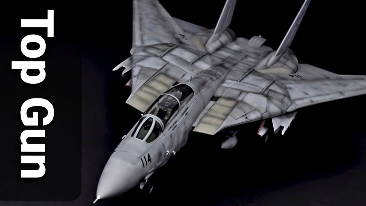 Model Building KIT ACA12563 1:72 Academy F-14A Tomcat VF-143 Pukin Dogs
