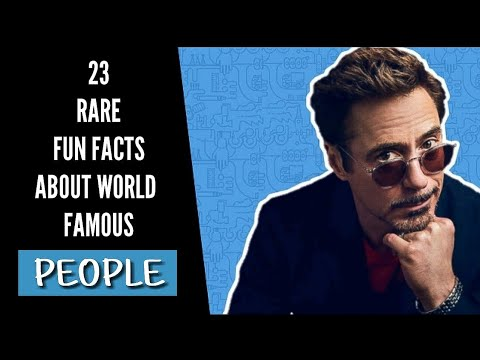 23 Unknown Facts About Famous People That Will Surprise You