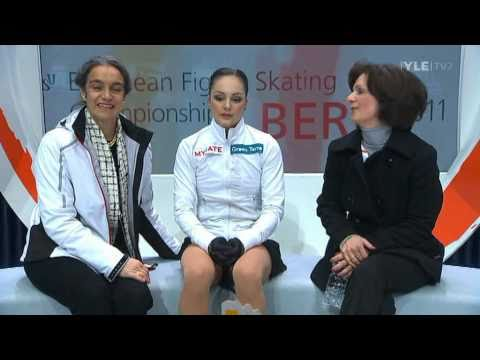 Sarah Meier - Free Program - 2011 European Figure Skating Championships