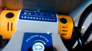 Китайская многофункциональная шлиф.машина на 750 Вт.(распаковка и обзор ) .