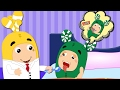 Oddbods Baby EAting Candy and Doctor Treats Funny Story ! Finger Family Nursery Rhymes [4K]