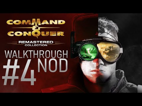 Command & Conquer:Remastered Collection │ Walkthrough #4 (Nod Chad A xD) |